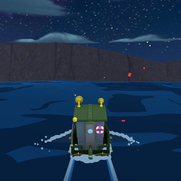 Скриншот игры Sea Hero Quest, по сути ставшей самым масштабным исследованием деменции.
