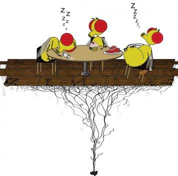 Учёные выяснили, почему после обеда хочется спать (мухам)