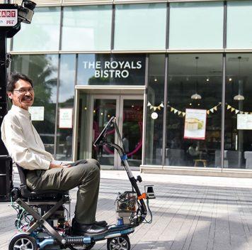 Разработана беспилотная инвалидная коляска