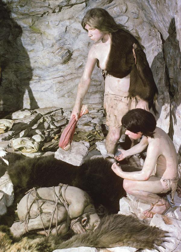 Неандертальцы хоронили своих умерших
