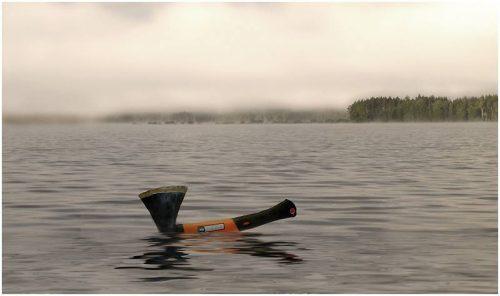 По реке плывёт топор...