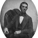 Даггеротип Оливера Уэнделла Холмса. 1853 год.