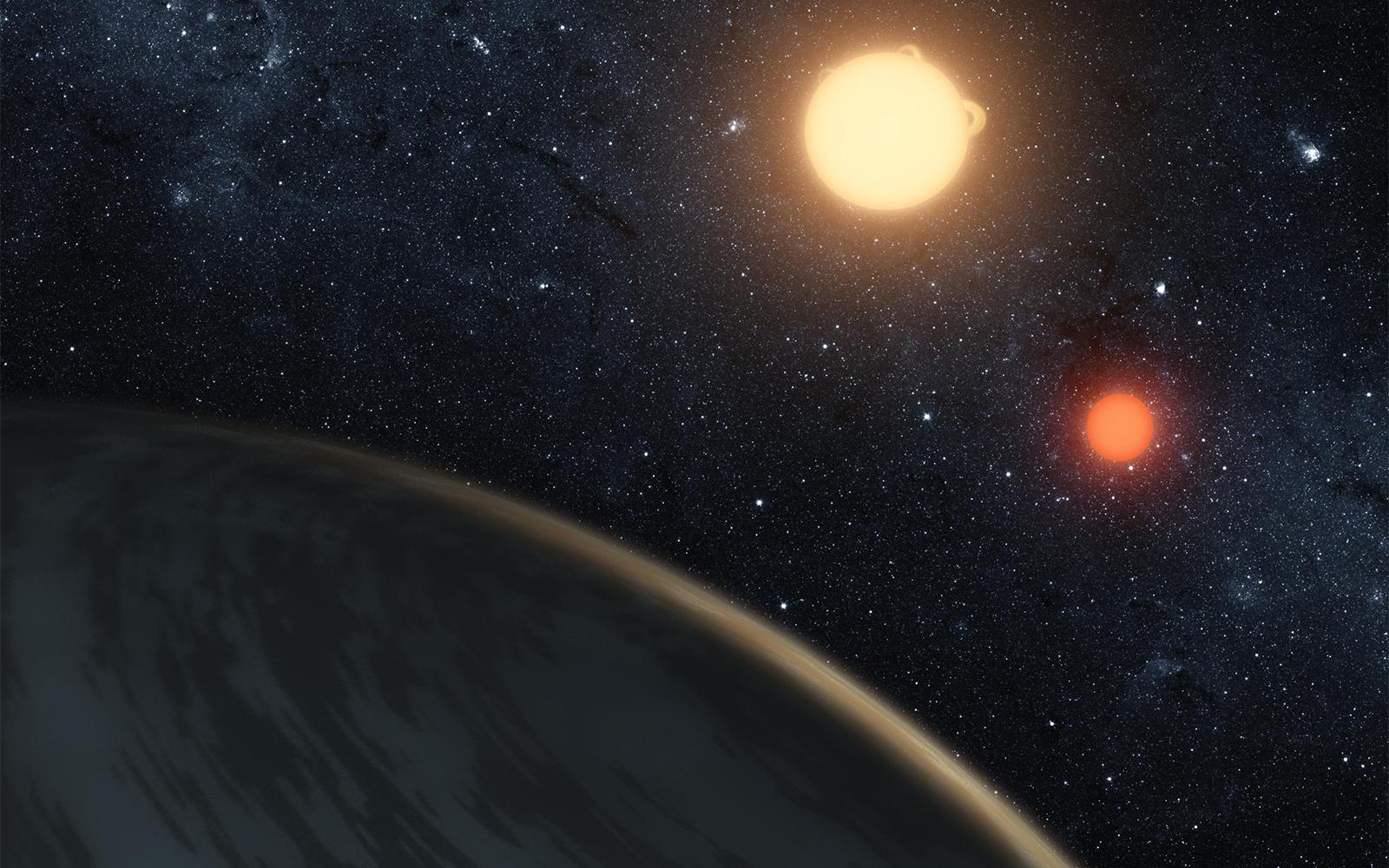 Газовый гигант Kepler-16b астрономы прозвали «Татуином».