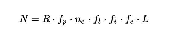 Уравнение Дрейка