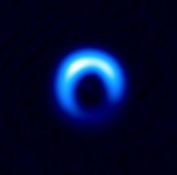 Как оценить размер космических пылинок удалёкой звезды?
