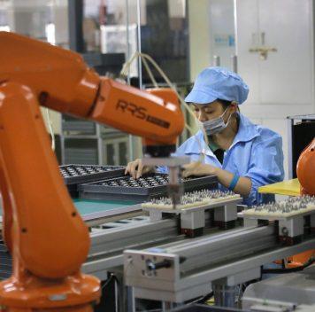 Китай тратит наразвитие робототехники больше, чем США