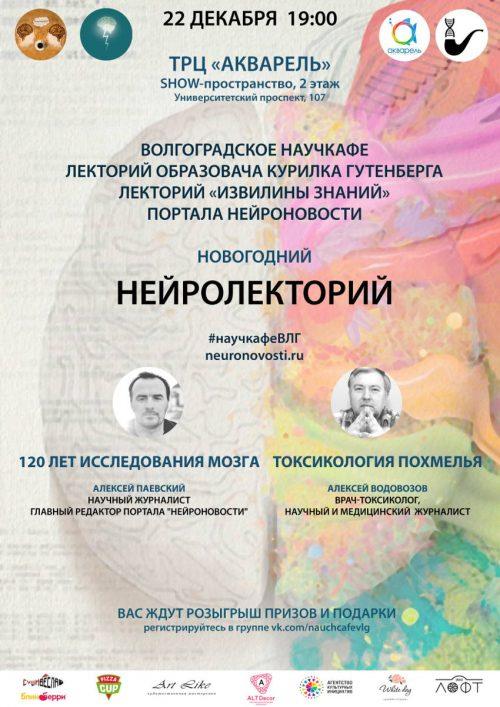 Новогодний нейролекторий вВолгограде