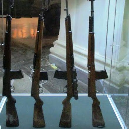 Автоматическая винтовка Симонова.