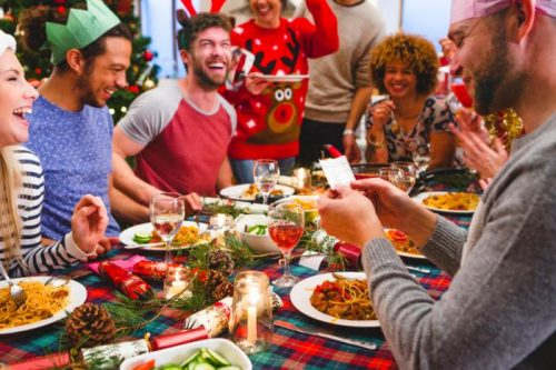 Празднуя Рождество, британцы за день съедают приблизительно три суточных нормы калорий.