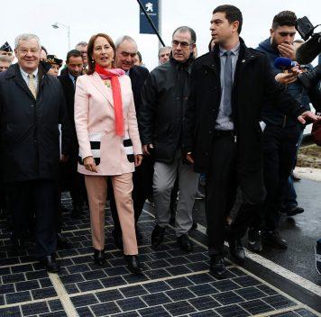 Открылось первое вмире «солнечное шоссе»