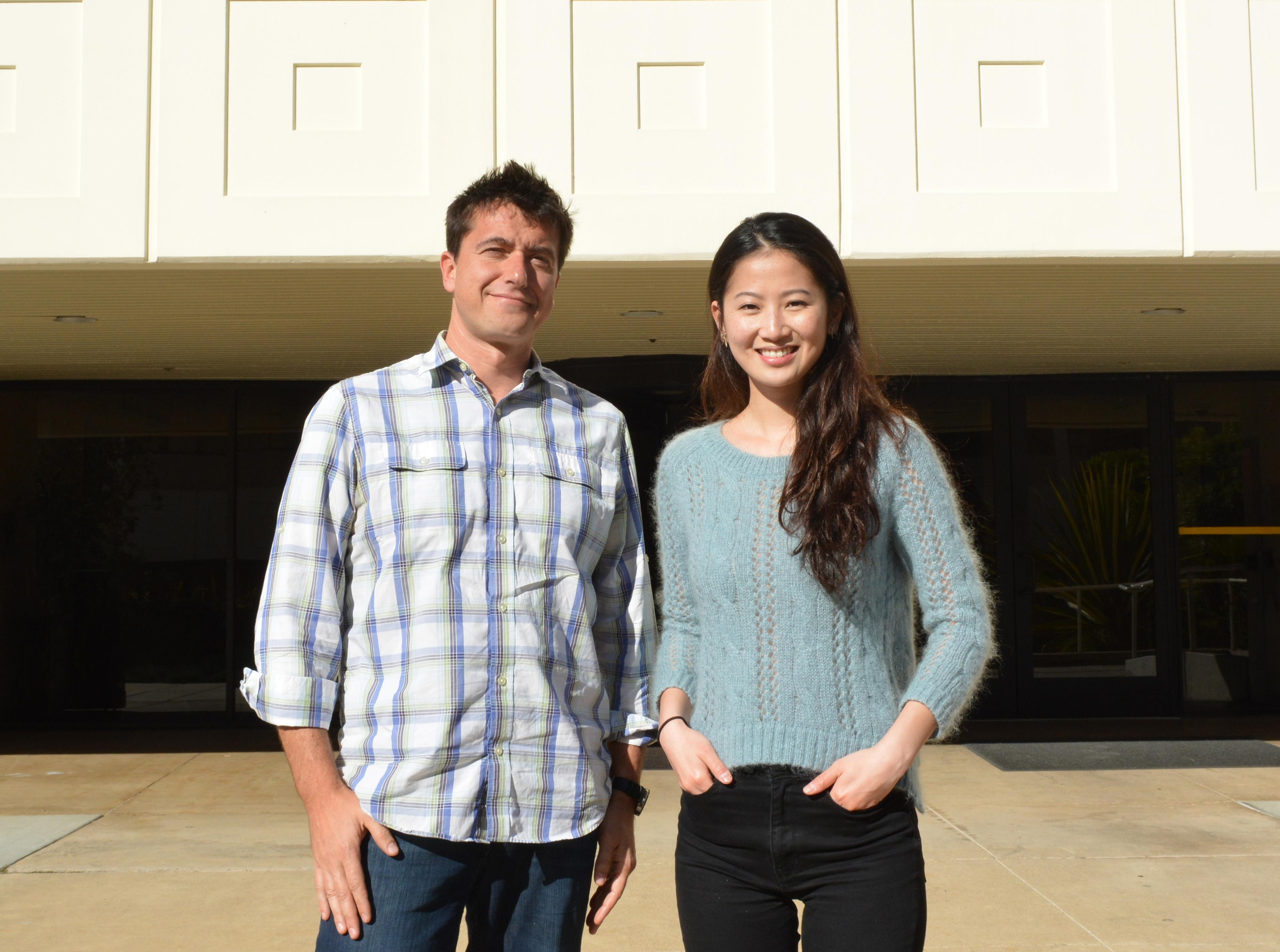 Эрос Ладзерини Денки иаспирант TSRI Джулия Су Джоу Ли (Julia Su Zhou Li)— авторы исследования.