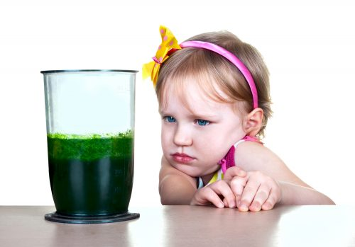 Дети нелюбят шпинат