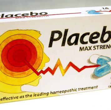 Упаковка сверхсильных плацебо.