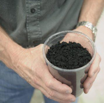 Взрывной метод производства графена