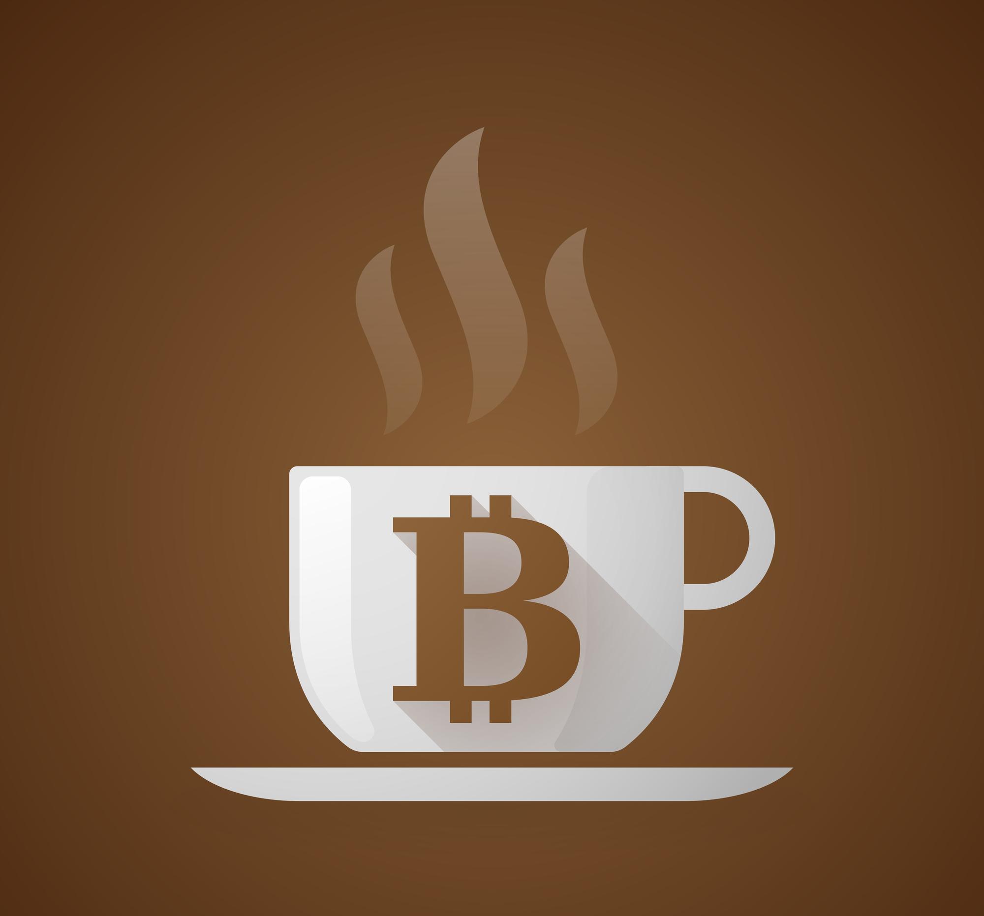 Никто нерасплачивается биткоинами за чашку кофе.