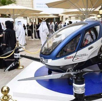 Этим летом вДубае запустят беспилотное воздушное такси