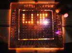 На новой светодиодной матрице можно писать с помощью лазерной указки.