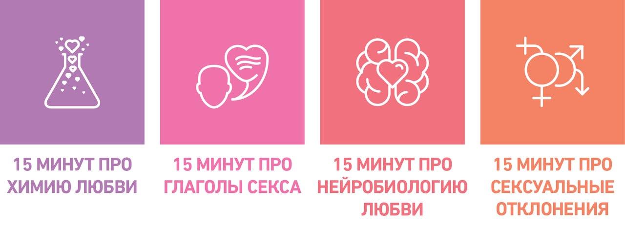 Лекторий 15х4 натему любви исекса. Москва, 14 февраля.