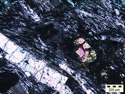 Циркон, найденный африканскими учёными вгорных породах острова Маврикий.