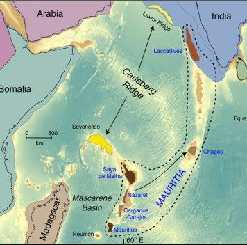 Под островом Маврикий обнаружился затерянный континент