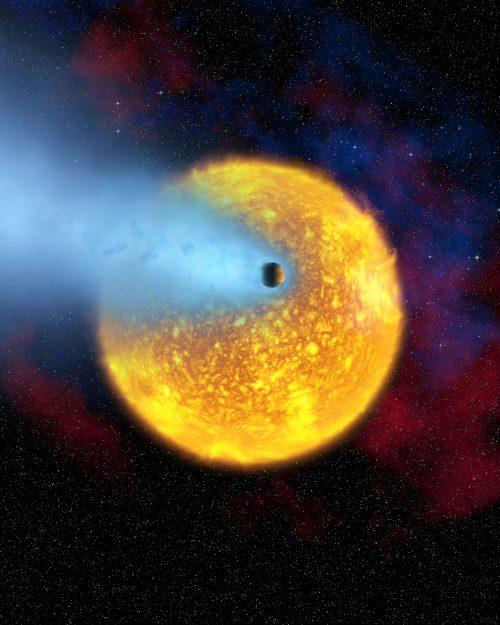 Эту красавицу-экзопланету зовут HD 209458 b или Осирис. Теперь, обладая надлежащими знаниями иупорством, каждый сможет открыть (или хотя бы попытаться) неменее симпатичную планету.