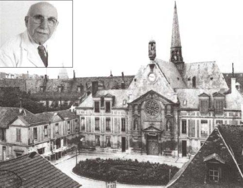 Французский врач Жан Стерн игоспиталь, вкотором он изучал свойства метформина.