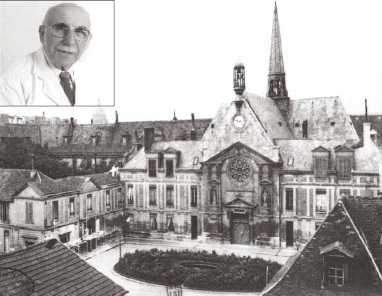 Французский врач Жан Стерн и госпиталь, в котором он изучал свойства метформина.