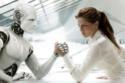 Американцы боятся, что роботы отнимут уних рабочие места. Абольше всего боятся женщины снизким образованием.