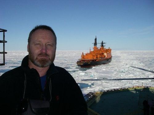 Никита Овсяников, биолог иэксперт по белому медведю.