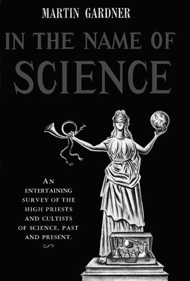 Обложка книги «Под видом науки» Мартина Гарднера