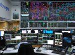 Аппаратная центра Национальной компании сети энергоснабжения в Уокингеме.