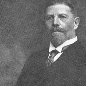 Людвиг Рен, немецкий хирург, который провёл первую операцию на открытом сердце.