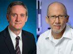 Авторы нового исследования о причинах развития онкологических заболеваний: Кристиан Томасетти (слева) и доктор Берт Фогельштейн (справа).