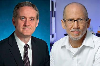 Авторы нового исследования опричинах развития онкологических заболеваний: Кристиан Томасетти (слева) идоктор Берт Фогельштейн (справа).