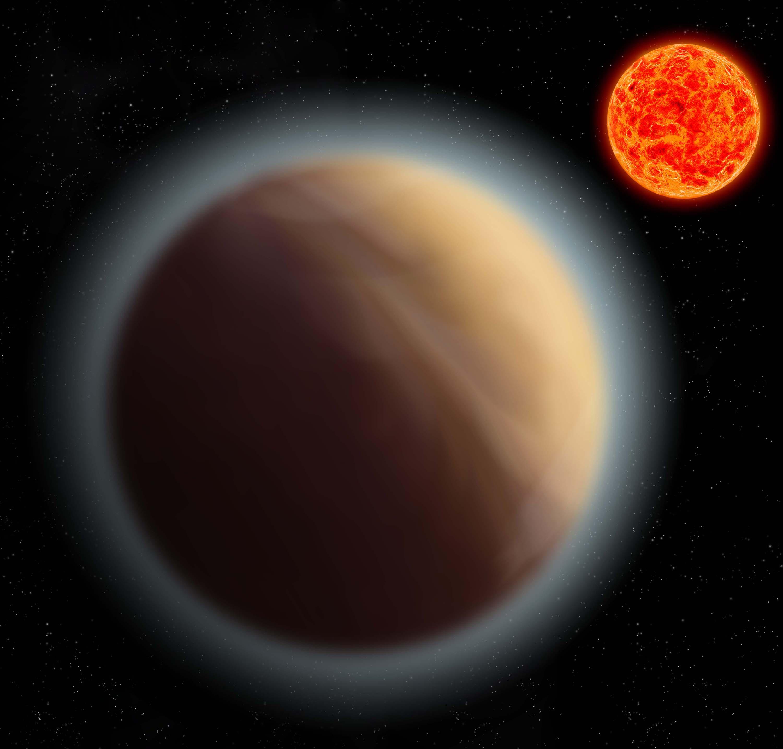 Экзопланета GJ 1132b икрасный карлик GJ 1132.