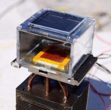 Воду из воздуха можно получить, используя солнечную энергию