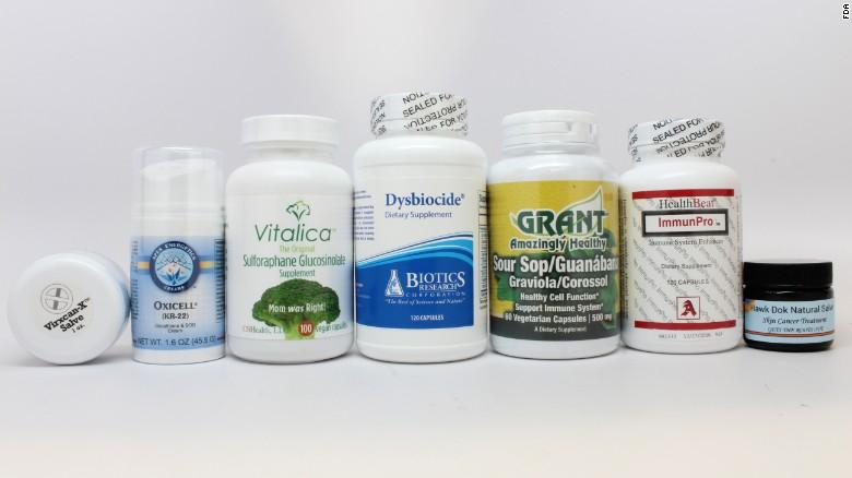 Некоторые из продуктов, привлёкших внимание FDA. Сполным списком можно ознакомиться насайте управления.