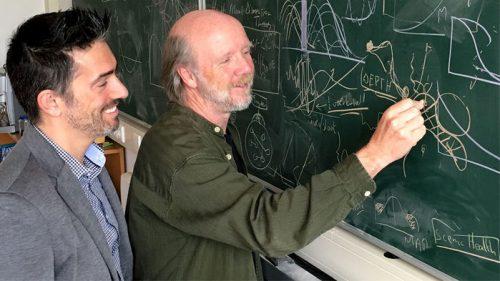 Йохан Боллен (слева) иМартен Схеффер (справа).