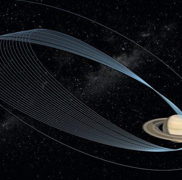 Первый «нырок» «Кассини»: хроника событий