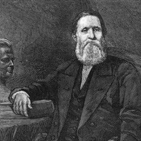 Кроуфорд Лонг, врач, впервые использовавший эфир для наркоза в хирургии и акушерстве.