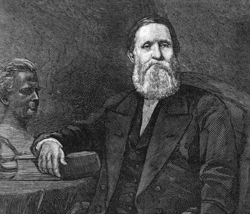 Кроуфорд Лонг, врач, впервые использовавший эфир для наркоза вхирургии иакушерстве.