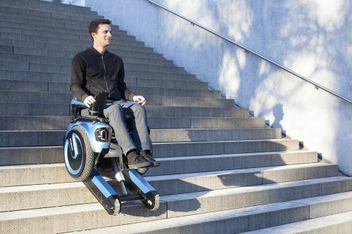 Scewo поднимается по лестницам быстрее, чем предыдущая модель— Scalevo.
