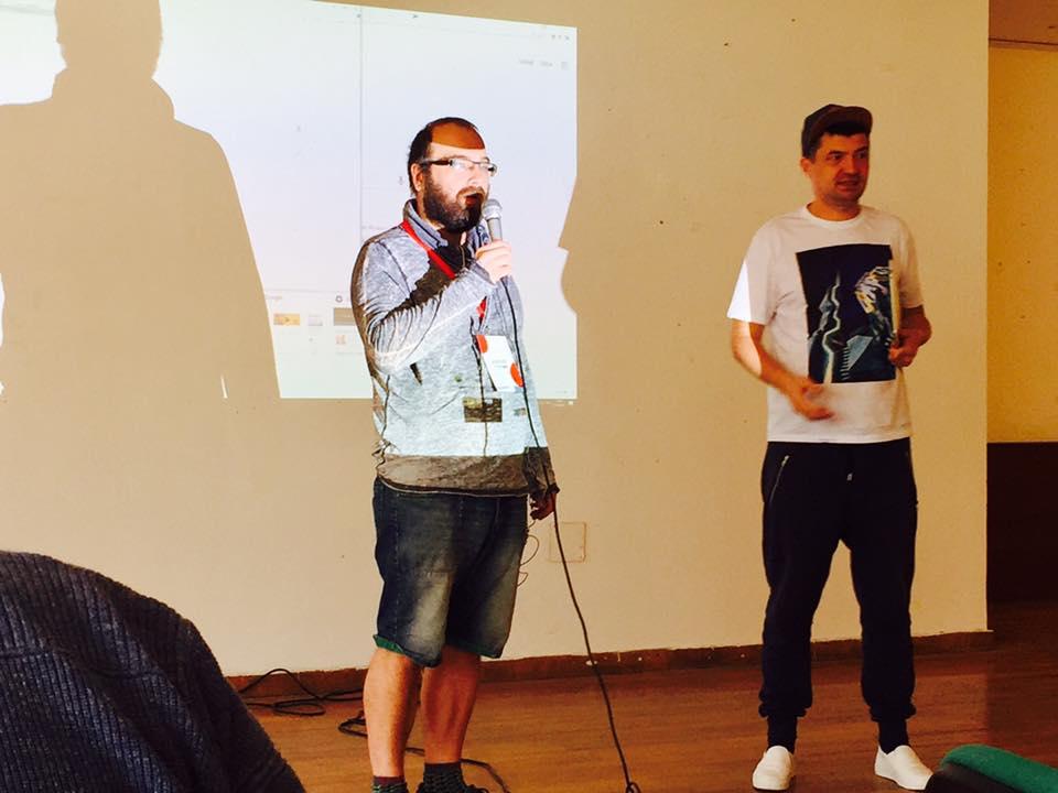 Выступление Алексея Турчина.