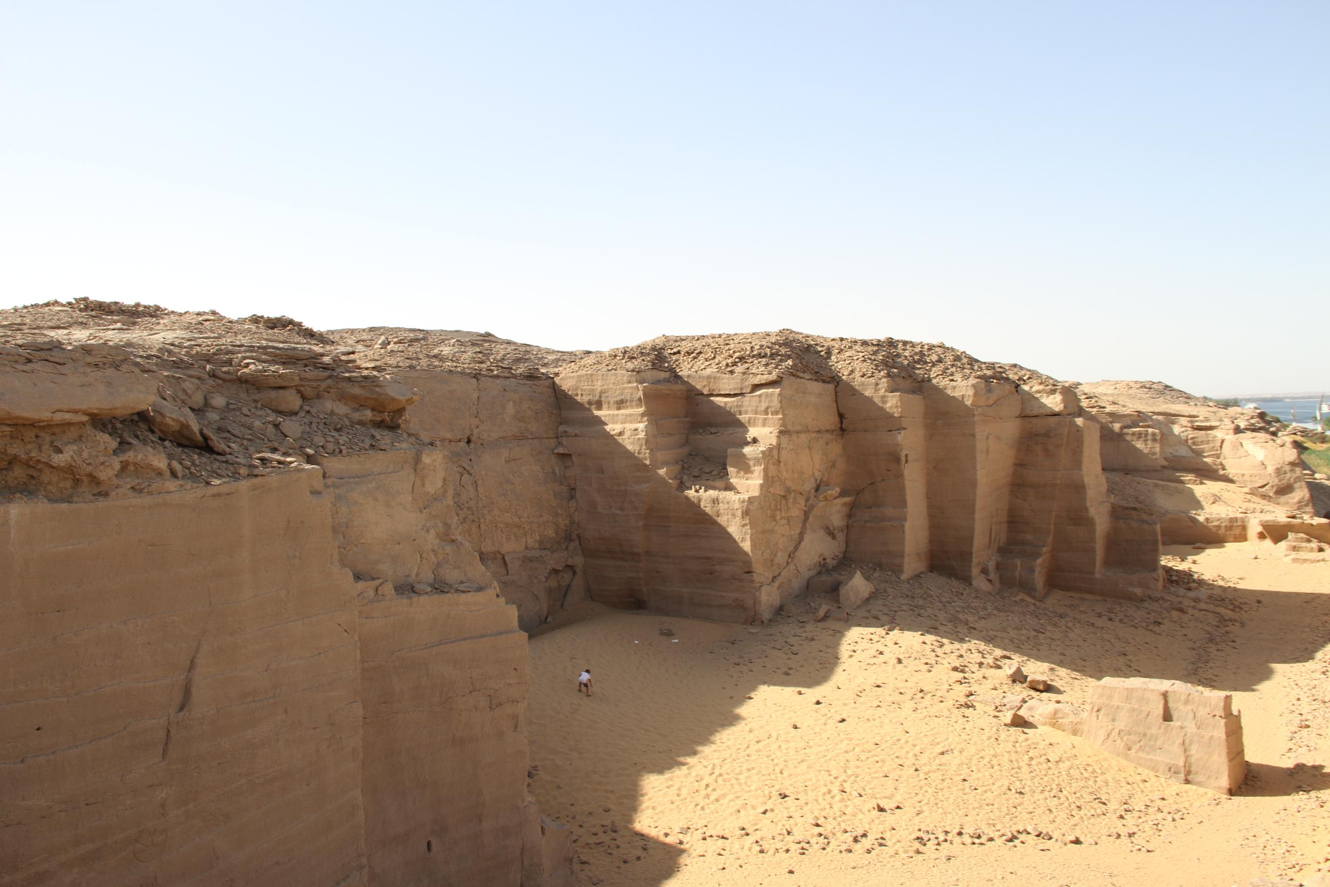 Каменоломни Гебель-эль-Силсила