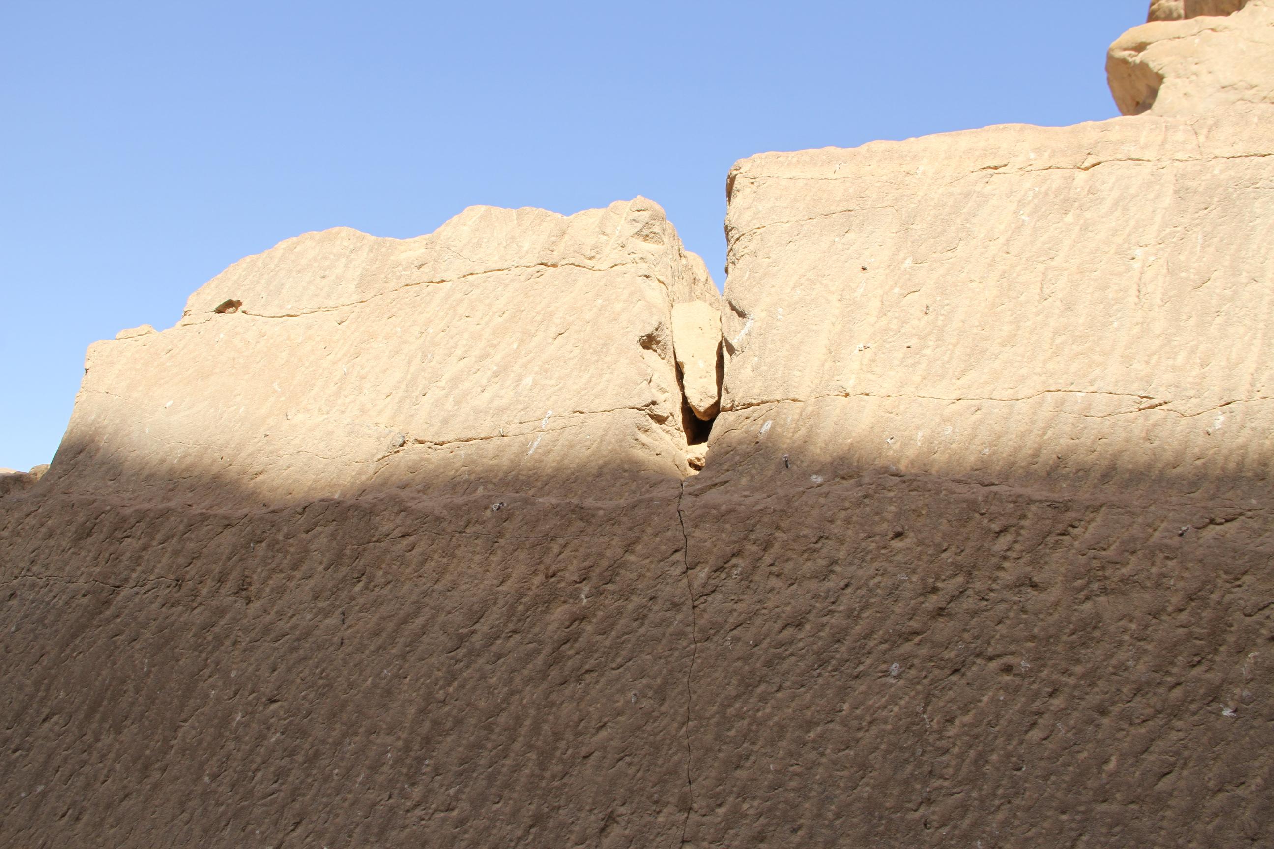 Каменоломни Гебель-эль-Силсила. Незаконченный блок