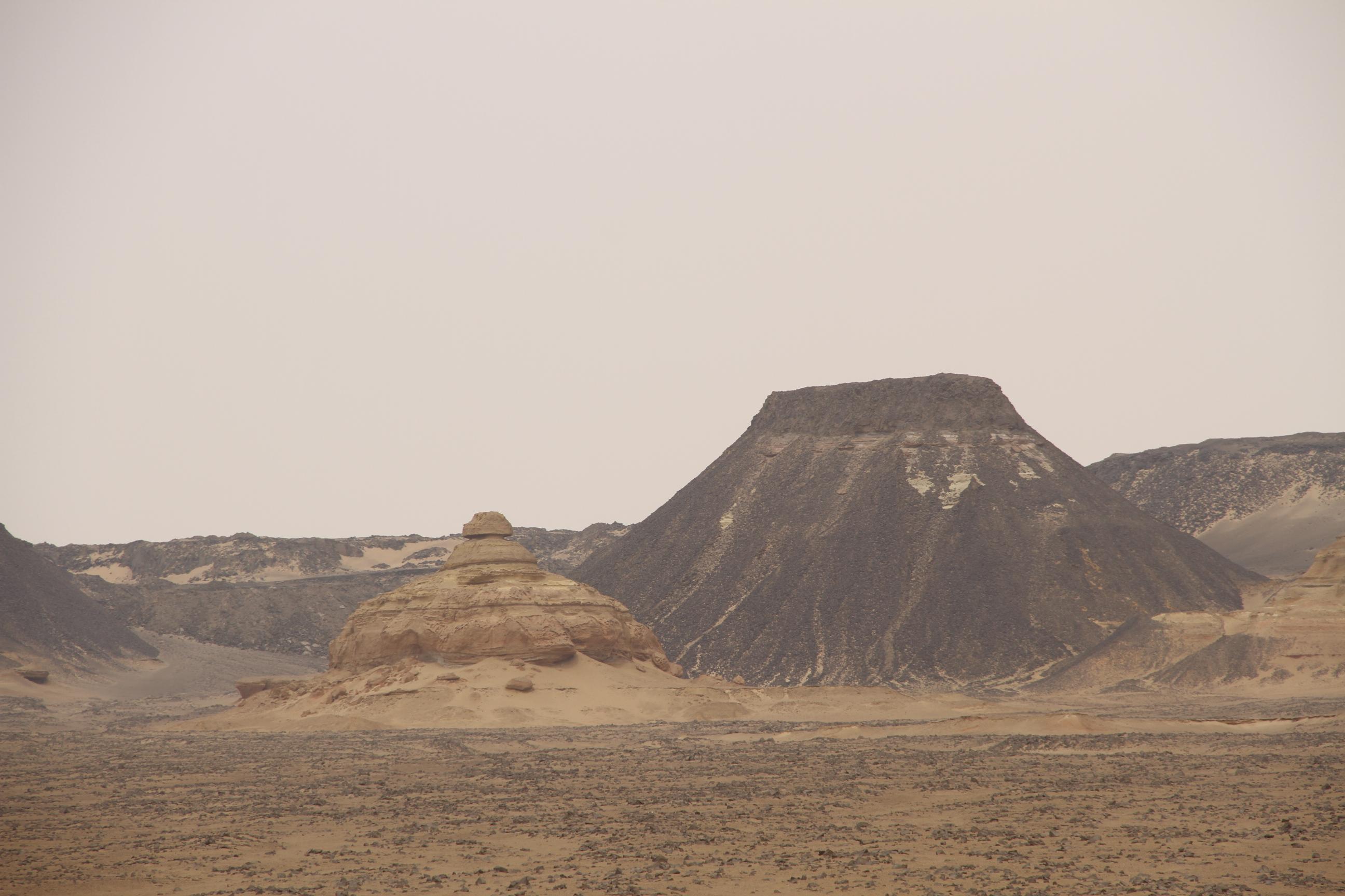 Базальтовые горы. Файюм