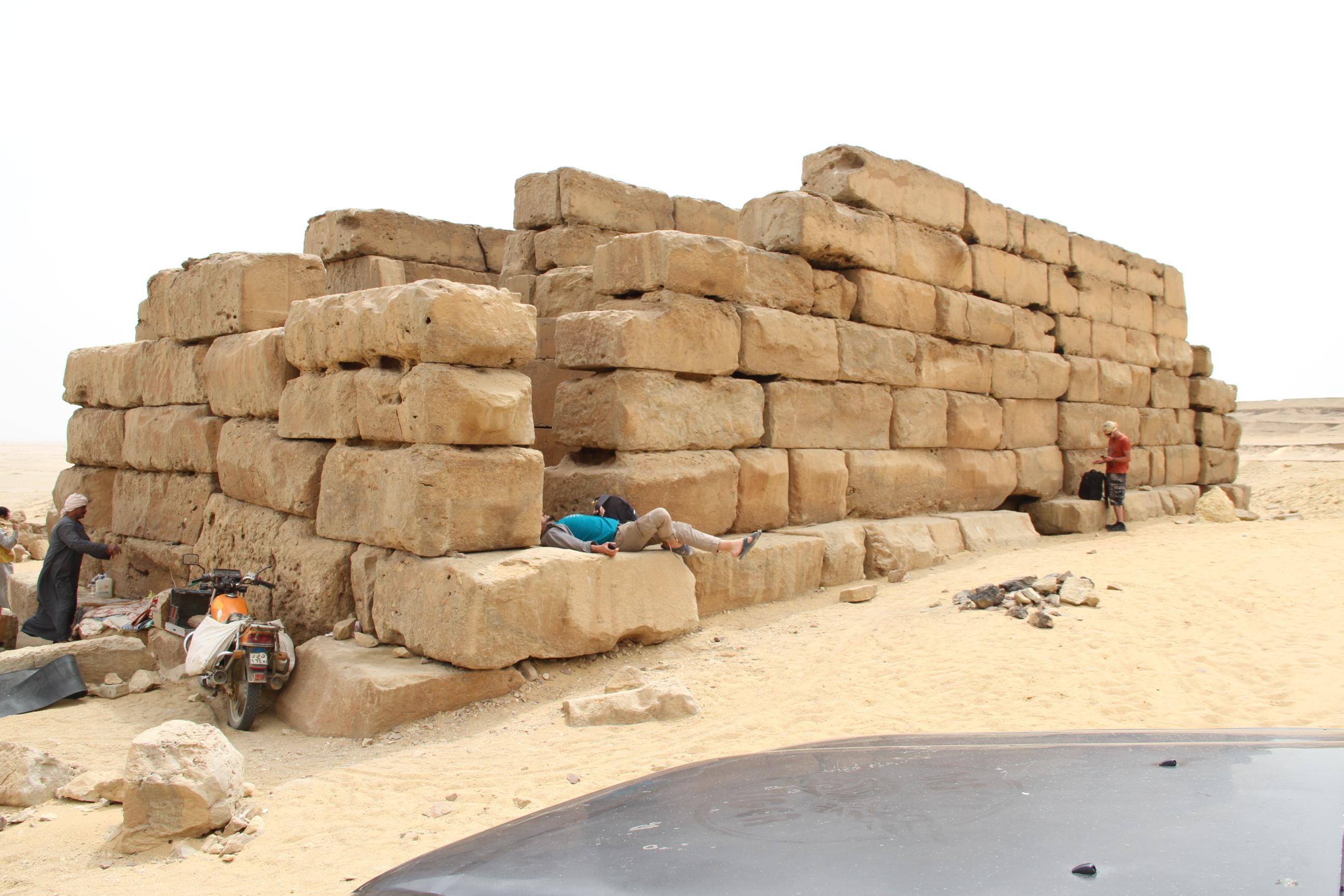 Храм Каср-эль-Сагха. Файюм