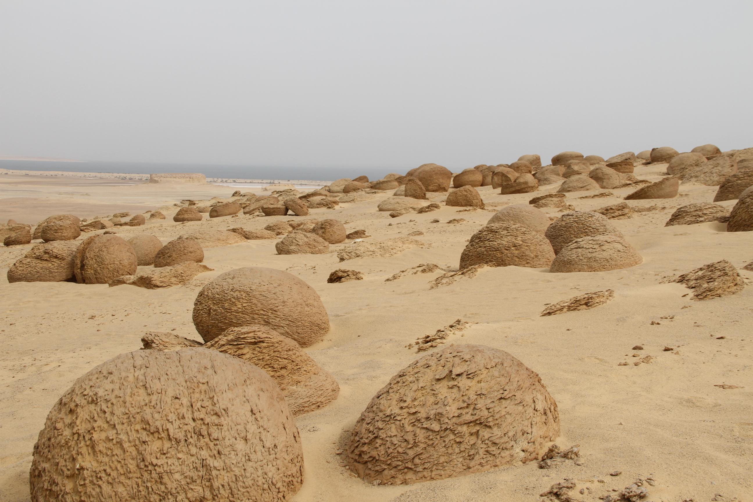 Каменные шары. Файюм