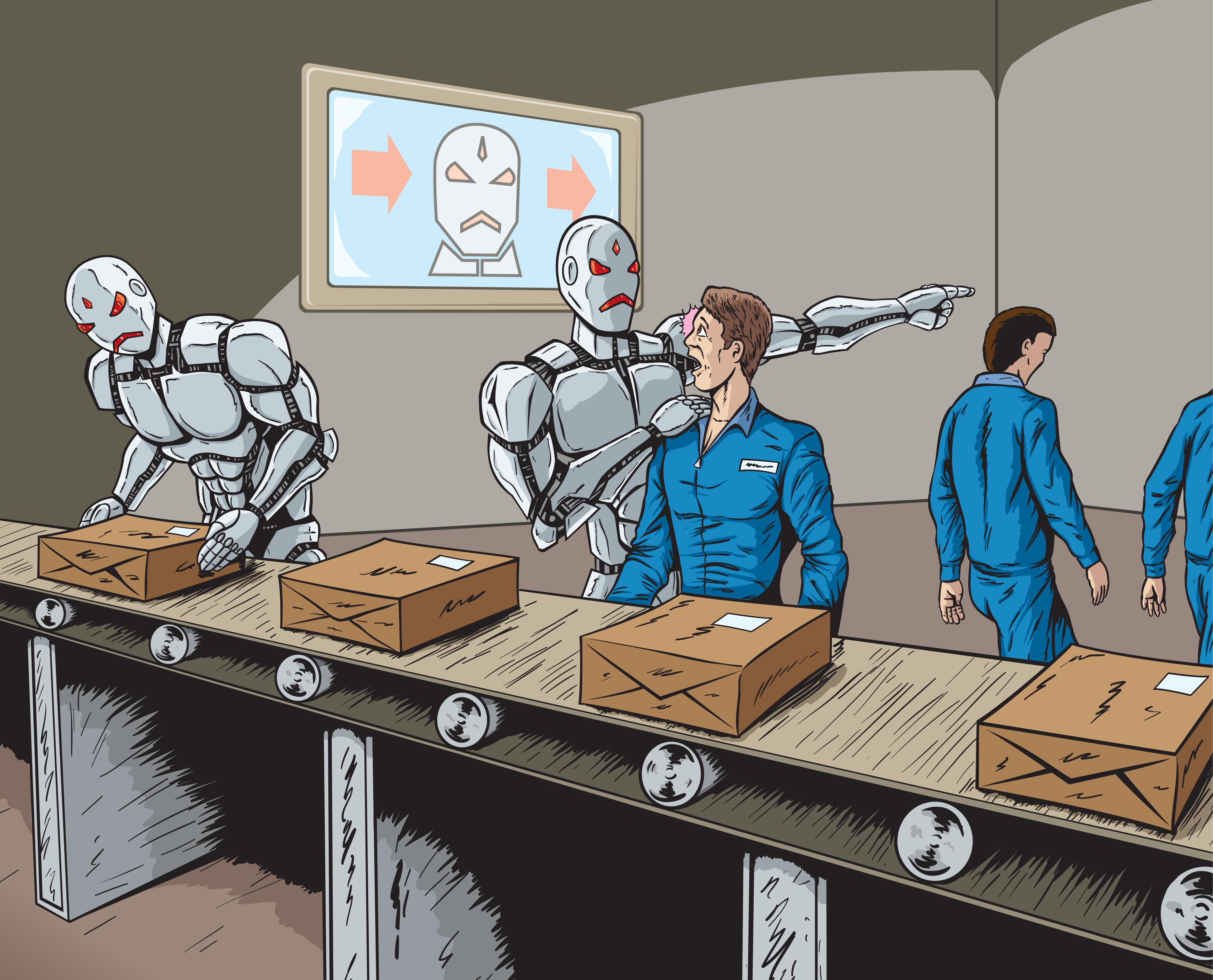 Роботы вместо людей. Да или нет?