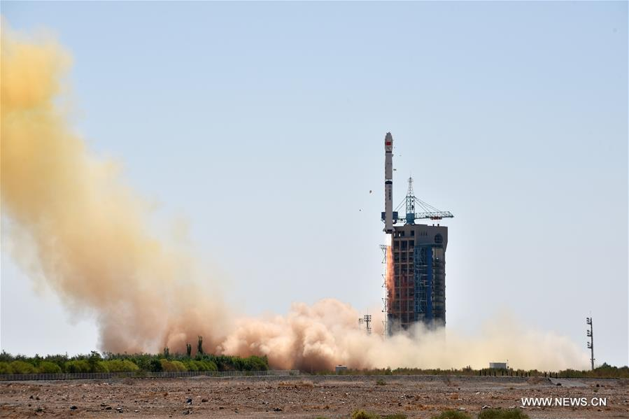 КНР, спомощью ракеты-носителя «Чанчжэн 4B» (<em>кит. трад.</em> 長征四號乙, <em>англ.</em> <i>Long March 4B</i>) вывела наорбиту свой первый рентгеновский космический телескоп для изучения чёрных дыр, пульсаров игамма-всплесков. Запуск произведён сегодня, в11:00, накосмодроме Цзюцюань (<em>кит. трад.</em> 酒泉衛星發射中心), расположенном накраю пустыни Бадын-Джаран во Внутренней Монголии.